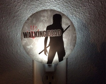 night light - The Walking Dead Michonne