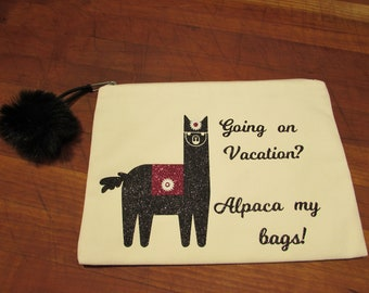Travel Bag alpaca bag vacation bag accessories bag