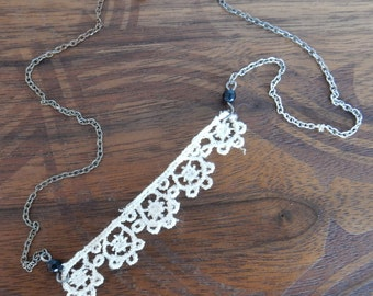 Reclaimed Lace Necklace