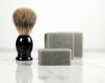 Black Tea + Tobacco Shaving Soap.  Shave Bar.  Shave Soap.