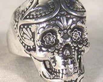Sugar Skull Design Ring