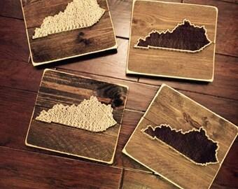 Kentucky KY String Art - State of Kentucky