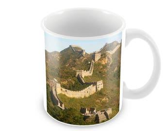 Great Wall Of China Ceramic Coffee Mug    Free Personalisation