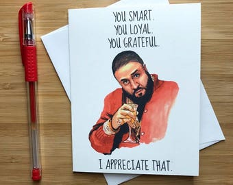 Funny Hip Hop Friendship Card, Funny Card for Friend, BFF Gift, Hip Hop Card, Card for Boyfriend, Thank You Card, Funny Greeting Card