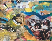 Angel Mixed Media Collage...