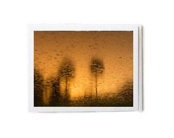 Copper Sunset Notecard