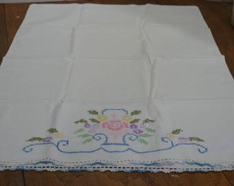 Vintage Bedding Re-Mix Embroidered Pillowcase