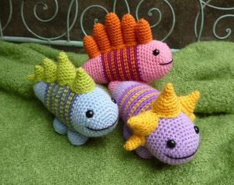 Amigurumi Monster Pattern Free Crochet : Romper monsters amigurumi crochet pattern