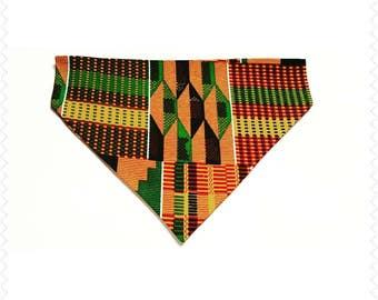 Dog Bandana - Fashion dog bandana, pet supplies, Over the collar dog bandana, Ethnic dog bandana, Dog supplies, African Fabric