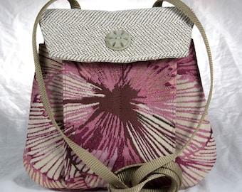 My Perfect Little Purse small purse cross body beige pink burgundy bag