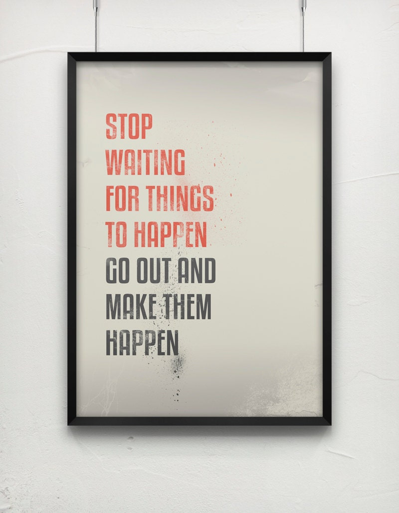 how to make something happen with your mind