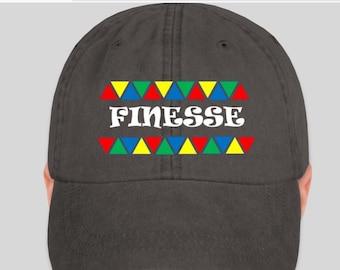 Finesse Hat - 90's Fashion - multi-color Tribal