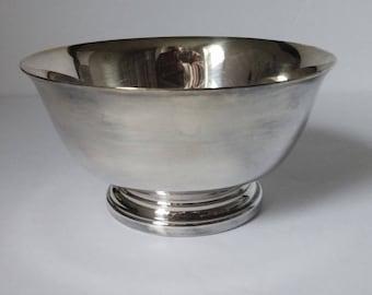 "Gorham YC795 Silver Plate 4"" Paul Revere Bowl"