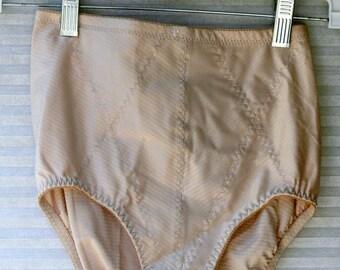 control  top high waist panties size med