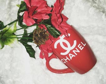 Designer inspired coffee mug