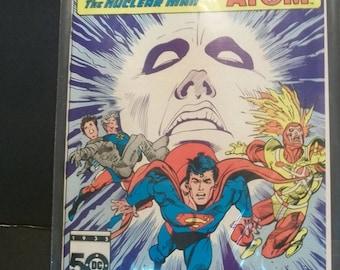 1985 DC Comics Presents #90 Superman & Firestorm The Nuclear Man And Captain Atom VF-NM  Vintage Comic Book