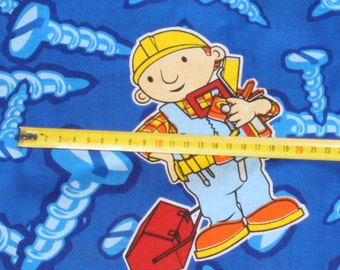 Bob the Builder Licensed Home Decor Fabric sewing material by the Metre