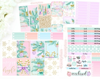 MERRY & BRIGHT | 6 Page Sticker Kit | PREORDER | ECLPVertical