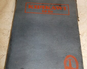 Racine WI High School Yearbook Kipikawi 1930