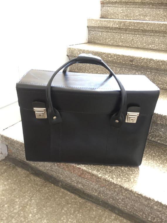 leather/attasche/valais/luggage/carryon/black