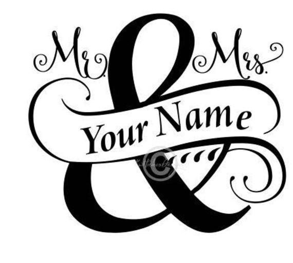 Split Monogram Svg Wedding Svg Mr And Mrs Svg Split Mr And