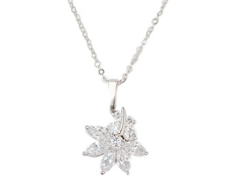 Crystal Wildflower Necklace