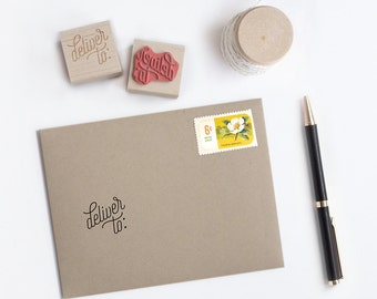 Rubber Stamp - Deliver To