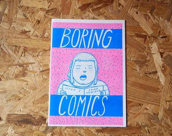 Boring Comics #1 by Emma Thacker