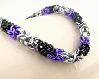 ON SALE Love is Enough Braid Chainmaille Bracelet