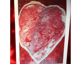 Greeting cards for the St Valentine's day can be framed to decorate a wall or other art-eco-friendly-no text-reuse object