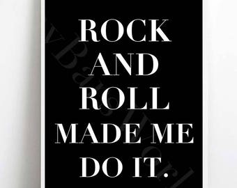 Rock and Roll Made Me Do It DIGITAL DOWNLOAD