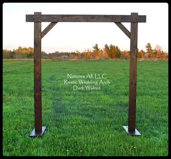 Rustic Wedding Arbors: Wedding Arch/Wedding Arbor/Rustic Wedding Arch/Complete Kit/