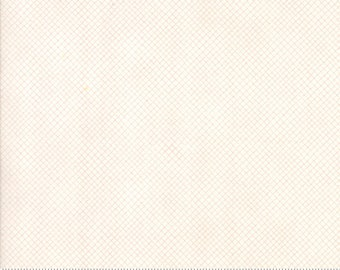 Corner of 5th & Fun - 17908-11 - Bias Plaid Natural - Ivory - by Sandy Gervais for Moda Fabrics