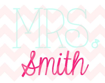 Mrs. ( Add Your Name Here!) Decal