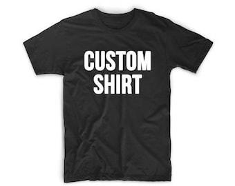 Custom Black Shirt