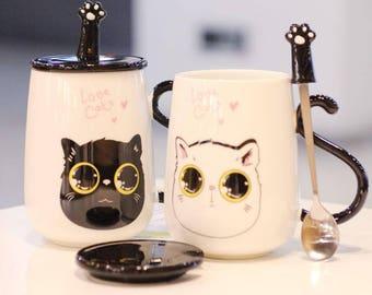 Cute Kawaii Animal Cermet Mug