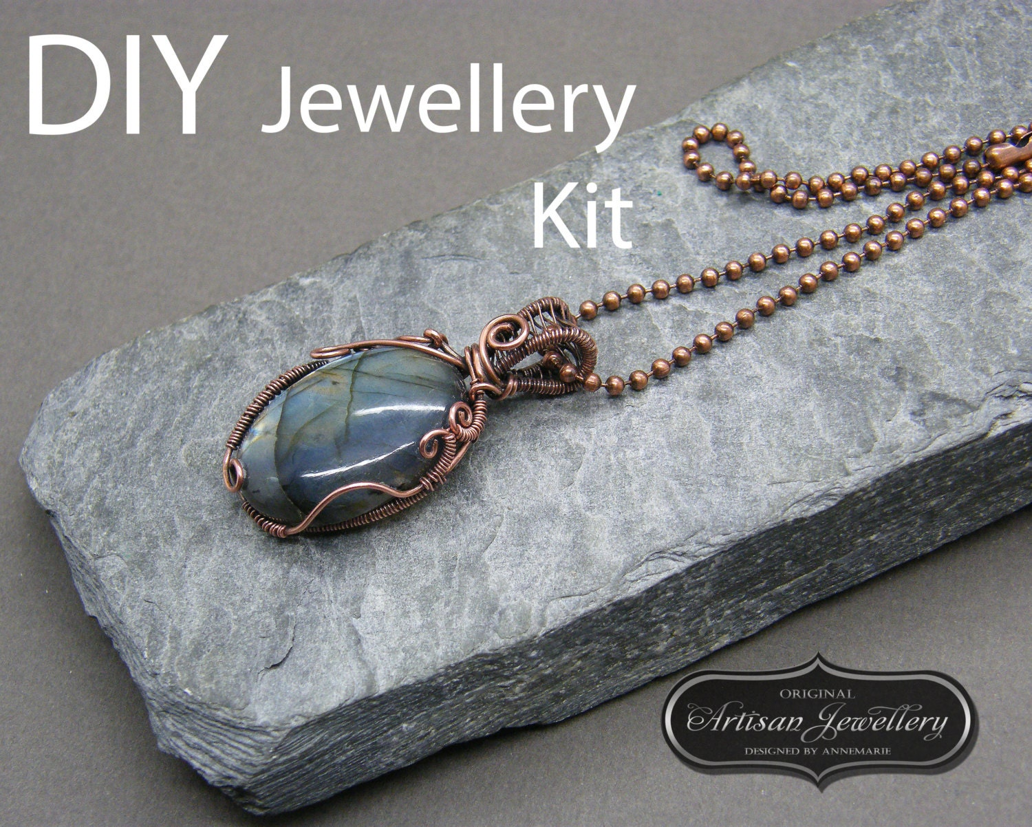 Wire wrapped jewelry tutorial wire wrapped cabochon tutorial zoom baditri Choice Image