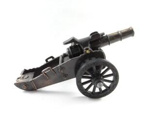 Die Cast Cannon Pencil Sharpener, Military Die Cast Cannon, Bronze Die Cast Cannon