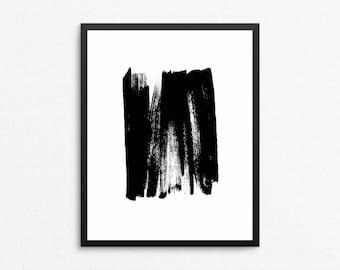 Abstract Digital Print, Minimalist Art, Black and White Abstract Art, Abstract Art, Modern Painting, Minimalist Print, Abstract Printable