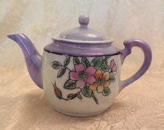 Lusterware Personal Teapot - Made in Japan - Nice!