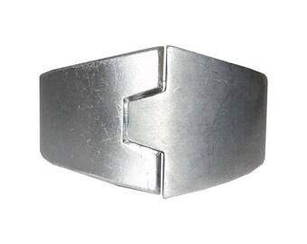 Lanvin Futuristic Aluminum Bracelet