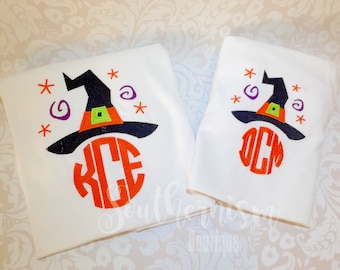 Halloween Shirt with monogram, Personalized Halloween Shirt, Womens Halloween Shirt, Monogram Halloween Shirt, girls, ladies, halloween