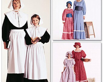 McCall's Pattern M7230 Misses' and Girls' Costumes