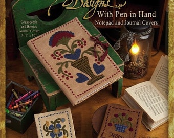 Pattern: With Pen In Hand by Wagons West Designs