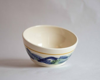 Zea Mays Bowl- Hand thrown ceramic cereal/ soup bowl