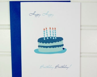 Birthday Card for Him, Brother, Uncle, Cousin, Nephew, Son, Husband, Dad, Grandfather, Father, Boyfriend, Stepdad, Coworker, Friend, Boss