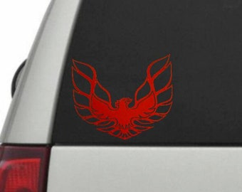 Fire bird car decal, Trans AM Decal, Phoenix Car Decal, Trans AM Fire Bird decal, Car stickers, monogram Car decals, Last of a dying breed,