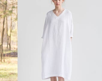 White Tunic Gown