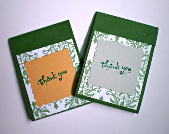 Mini Matchbook Notepads - Set of two
