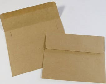 Core'dinations 25pc. Kraft A2 60lb. Smooth Premium Paper Envelopes 4 3/8 x 5 3/4